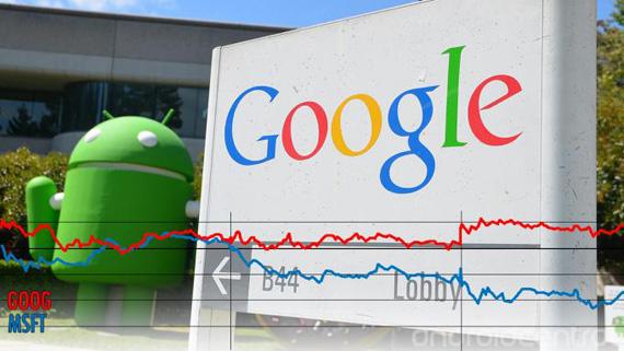Τέλος εποχής; Η Google έχει υψηλότερη αξία από την Microsoft