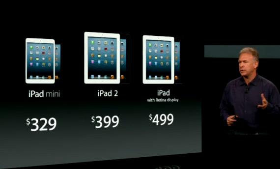 iPad Mini, Επίσημα με οθόνη 7.9 ίντσες