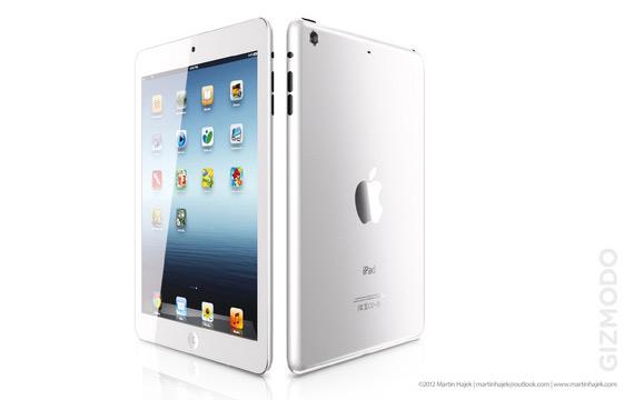 iPad mini renders