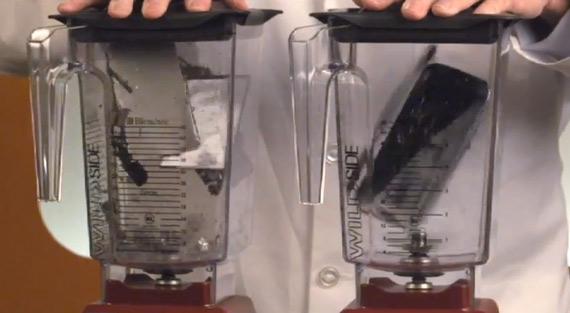 iPhone 5 vs. Samsung Galaxy S III, Δοκιμή στο μπλέντερ [will it blend?]