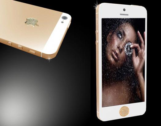 iPhone 5 και Galaxy S III με χρυσό