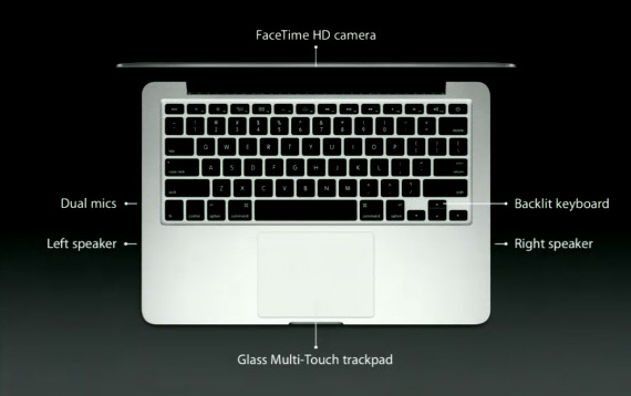 """MacBook Pro 13"""" με οθόνη Retina [επίσημα]"""