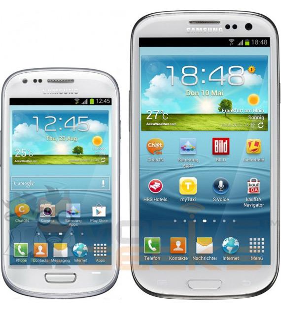 Samsung Galaxy S III Mini, Μια πρώτη εικόνα, πλήρη specs και τιμή;