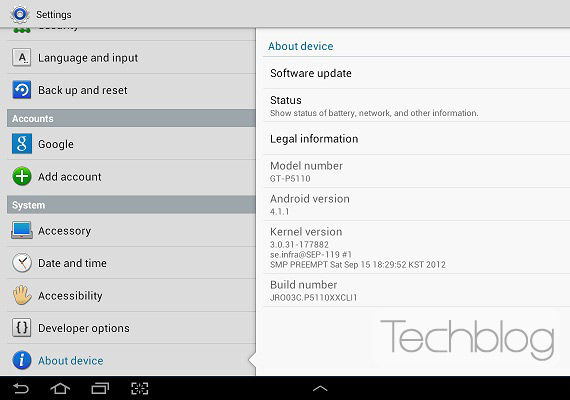 Samsung Galaxy Tab 2 10.1, Ξεκίνησε η αναβάθμιση σε Android 4.1 Jelly Bean