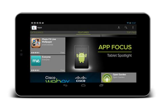 Google προς developers, Φτιάξτε καλύτερα apps για tablets