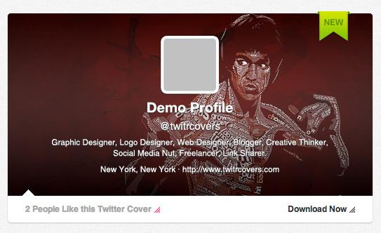 Τwitrcovers, Υπέροχα covers για το προφίλ σας στο Twitter