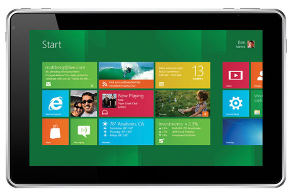 Windows 7, Οι τιμές στα notebooks πέφτουν καθώς εμφανίζονται ολοένα και περισσότερες Windows 8 ταμπλέτες