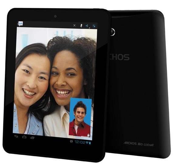 Archos 80 Cobalt, Android tablet με οθόνη 8 ίντσες και διπύρηνο επεξεργαστή