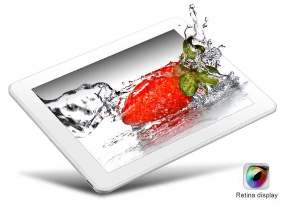 CHUWI V99, Διπύρηνο Android tablet με οθόνη Retina