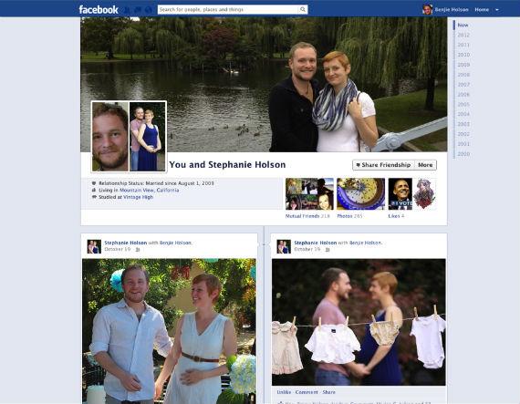 Το Facebook φέρνει την εμφάνιση Timeline στις Friendship Pages