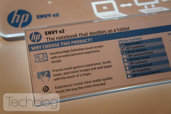 HP Envy x2 φωτογραφίες hands-on