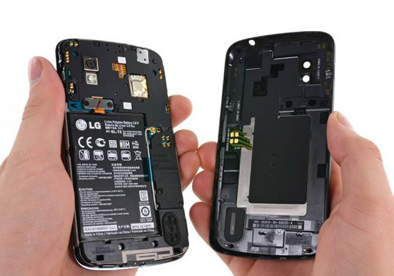 LG Nexus 4 από μέσα [teardown]