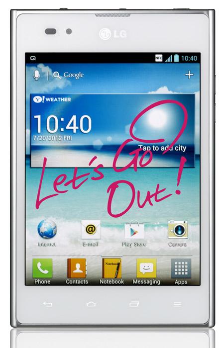 LG Optimus Vu, Κυκλοφόρησε στην ελληνική αγορά με τιμή 599 ευρώ