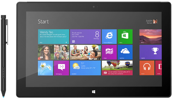 Microsoft Surface Pro με Windows 8, Τιμές και διαθεσιμότητα στην Αμερική