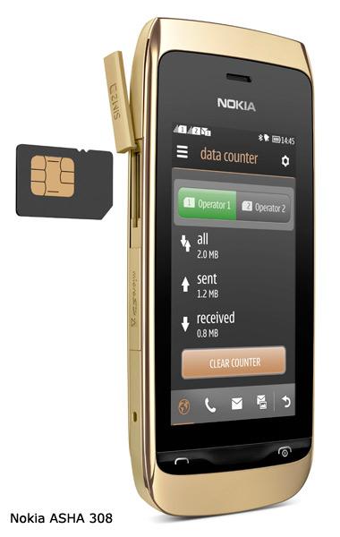 Τα Nokia Asha 309 και Asha 308 κυκλοφόρησαν στην ελληνική αγορά