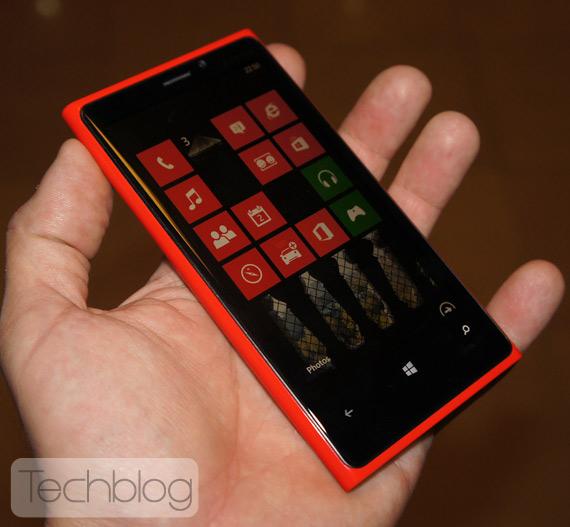 Nokia Lumia 920, Πρώτη επαφή hands-on