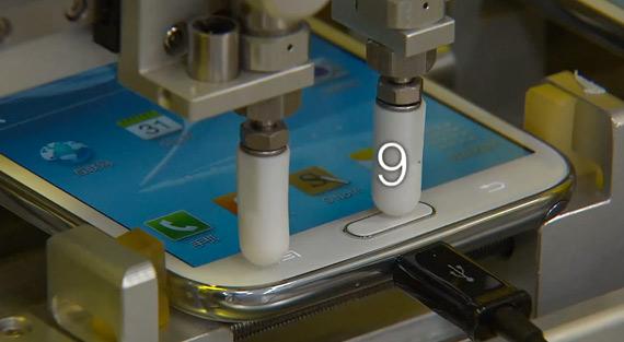 Επίσημες δοκιμές αντοχής σε ένα Samsung Galaxy Note II
