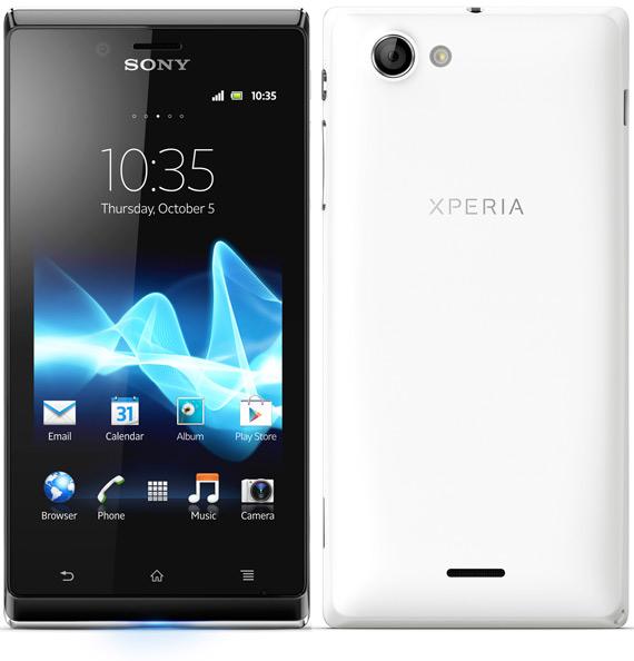 Sony Xperia J κυκλοφορεί με τιμή 279 ευρώ