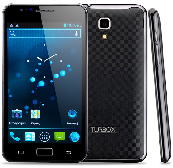 Turbo-X G500, Δίκαρτο Android smartphone με οθόνη 5 ιντσών και δώρο χάρτες
