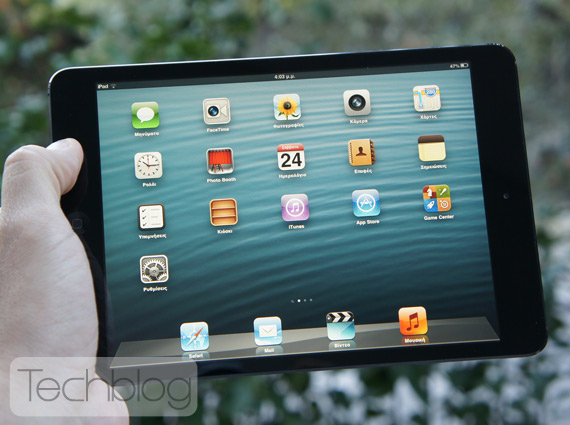 iPad mini ελληνικό βίντεο παρουσίαση