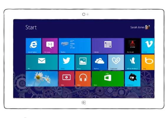 Γνωρίστε τον νέο Internet Explorer 10 για tablets και ξεχάστε το iPad