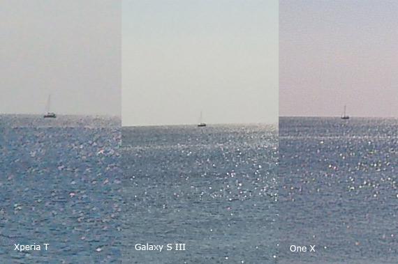 Sony Xperia T με κάμερα 13 Megapixel εναντίον Galaxy S III και One X με κάμερα 8 MP