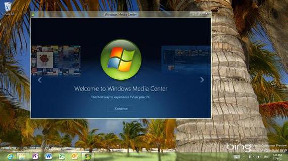 Windows 8 Media Player