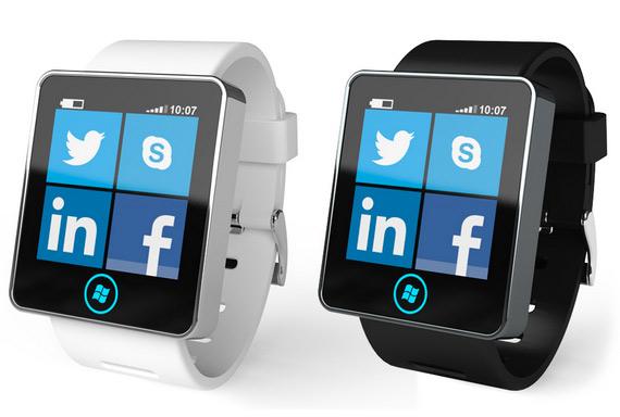 Gnomio, Ρολόι χειρός με live tiles συμβατό με Windows Phone 8 smartphones