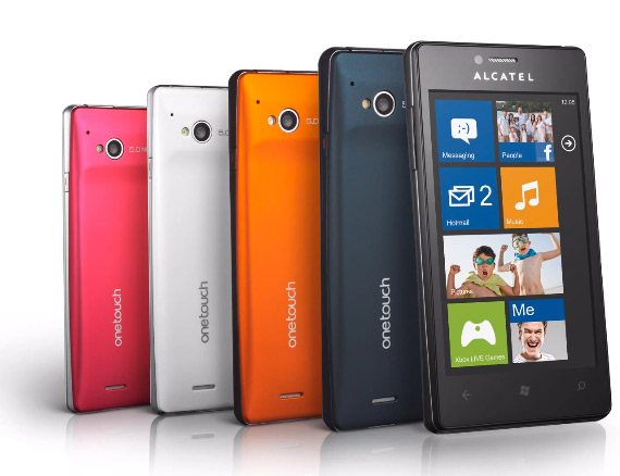 Alcatel OneTouch View με Windows Phone 7.8 [teaser video]