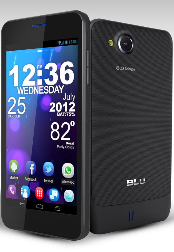 BLU VIVO 4.65 HD, Δίκαρτο smartphone με οθόνη 4.65 ίντσες HD Super AMOLED