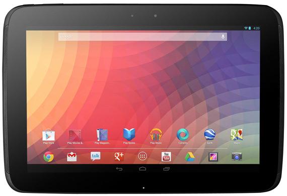 Google Nexus 10 πλήρη τεχνικά χαρακτηριστικά