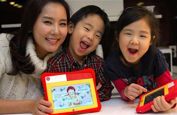 LG KidPad ET720, Και ο μπέμπης θέλει το tablet του
