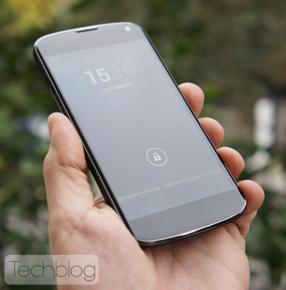 LG Nexus 4 φωτογραφίες hands-on