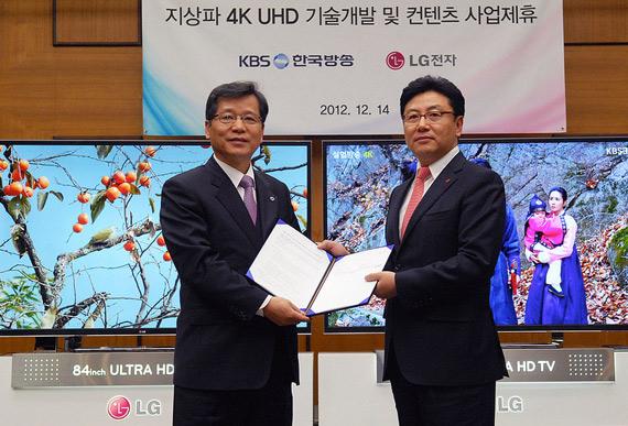 Στην Κορέα ετοιμάζουν τηλεοπτικά προγράμματα σε UHD και εσύ περιμένεις να έρθει η Digea στην περιοχή σου