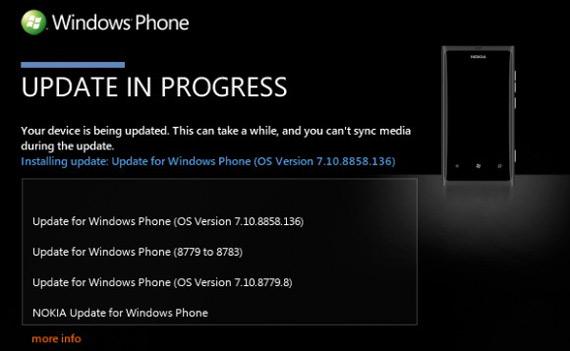 Nokia Lumia 800, Ξεκίνησε η αναβάθμιση σε Windows Phone 7.8