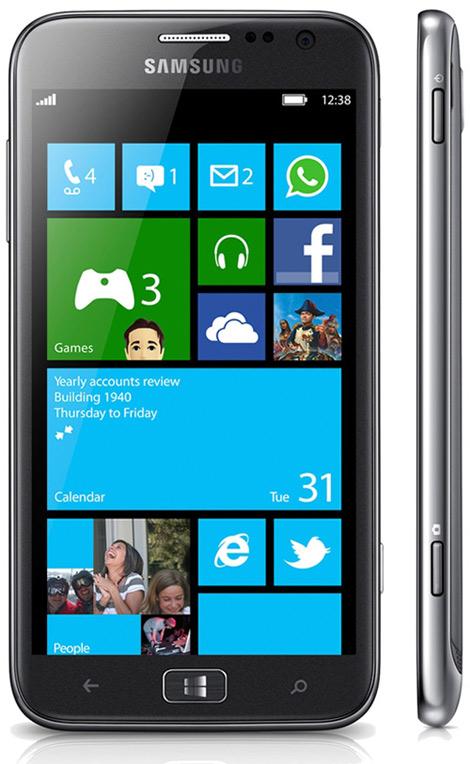 Samsung ATIV S, Διαθέσιμο στην Αγγλία από τις 14 Δεκεμβρίου