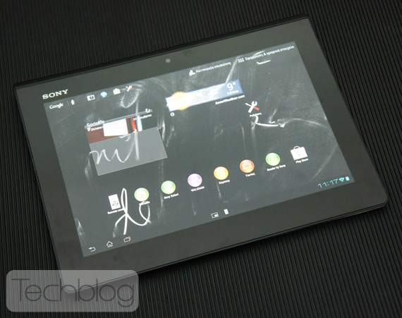 Sony Xperia Tablet S ελληνικό βίντεο παρουσίαση