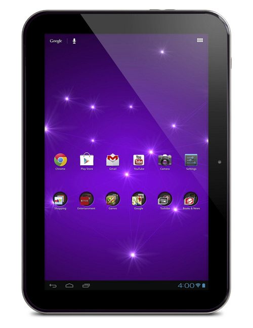 Toshiba Excite 10 SE, Τετραπύρηνο tablet με Android 4.1 Jelly Bean και 350$