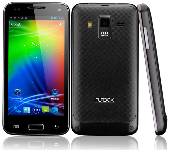 Turbo-X G400, Με οθόνη 4.3 ίντσες και Android 4.0 ICS [τιμή 199 ευρώ]
