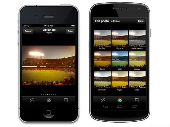 Twitter Photo Filters, Προσθήκη retro φίλτρων στο application