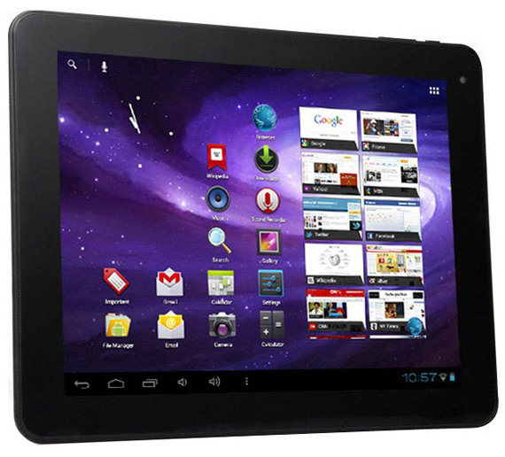 VERO Tablet A9724 9.7, Android tablet με ICS και τιμή 235 ευρώ
