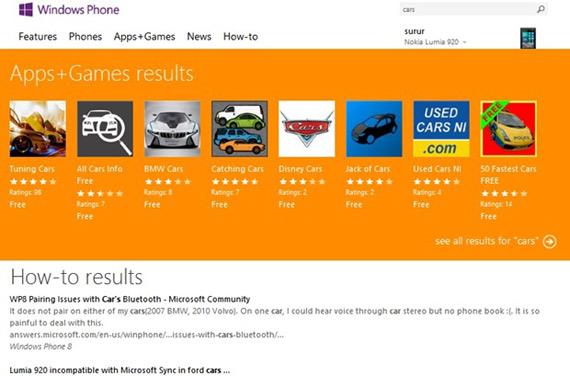 Windows Phone Store, Προσβάσιμο από 191 χώρες