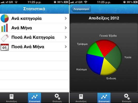 Greek Receipts, Εφαρμογή για iOS συσκευές [Έλληνες developers]