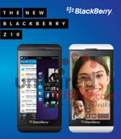 BlackBerry Z10, Το επίσημο όνομα του πρώτου BlackBerry 10 smartphone