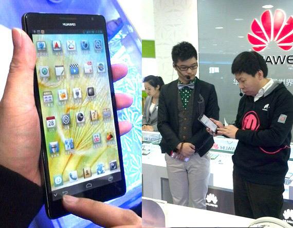 Huawei Ascend Mate, Tabletόφωνο με οθόνη 6.1 ιντσών FHD 1080p
