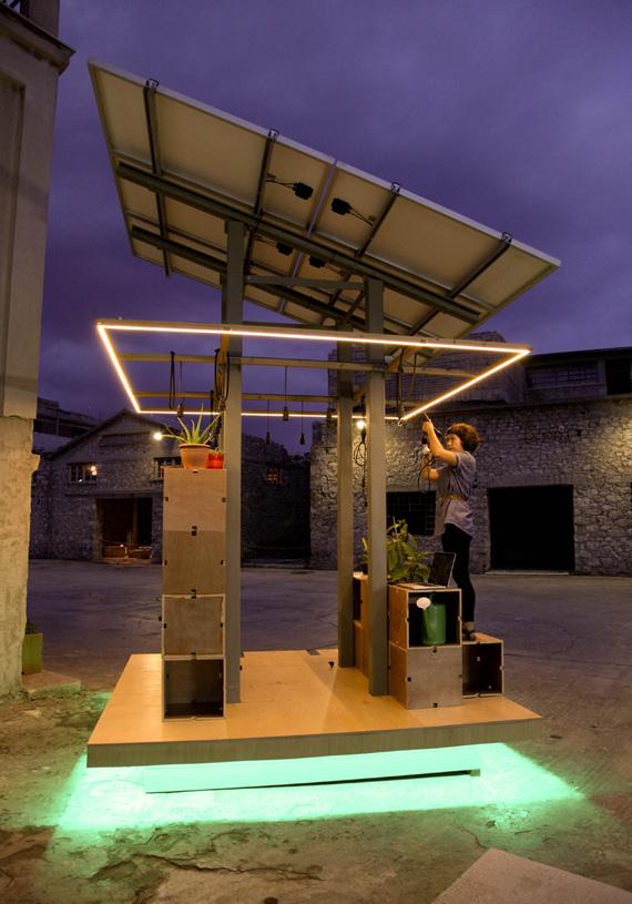 CityIndex Aktina, Πράσινος σταθμός φόρτισης για αστικά περιβάλλοντα