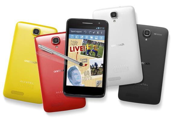 Alcatel OneTouch Scribe HD, Διπύρηνο tabletόφωνο με οθόνη 5 ιντσών