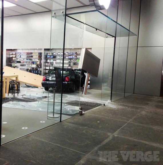 Ατύχημα σε Apple Store στο Σικάγο