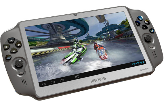 Archos Gamepad, Android tablet και φορητή κονσόλα μαζί [CES 2013]