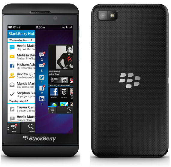 BlackBerry Z10 πλήρη τεχνικά χαρακτηριστικά και αναβαθμίσεις
